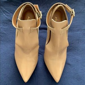 Aldo Shoes - Faux Leather & Faux Suede Booties
